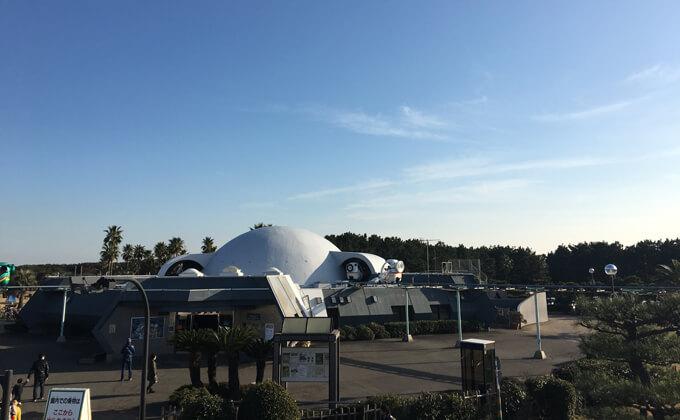 辻堂海浜公園の敷地内にある交通公園の施設スカイサイクル13
