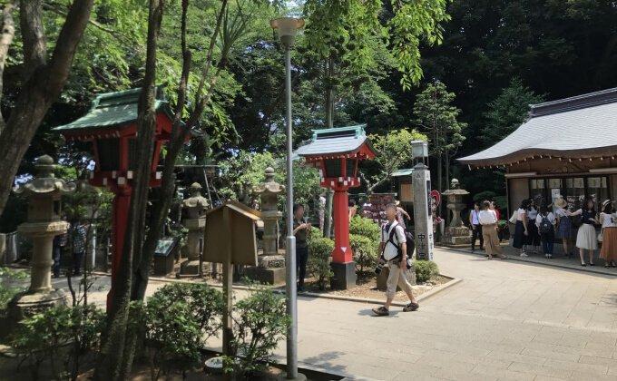 江島神社・中津宮(なかつのみや)