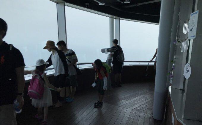 江の島 シーキャンドル 展望台