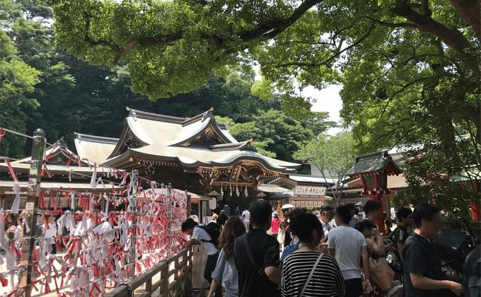 江島神社・辺津宮(へつみや)