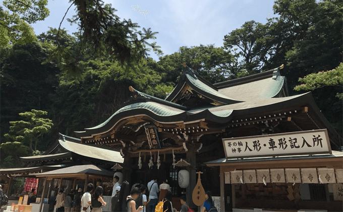 辺津宮の社殿