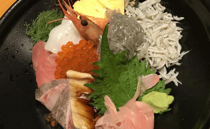 「磯料理 天海」海鮮丼
