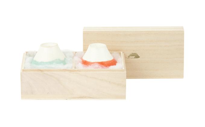 富士山をイメージしたおちょこ「FUJI CHOCO」富士猪口