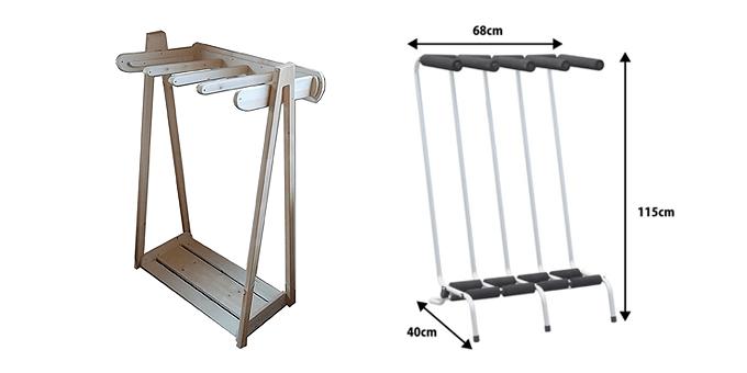人気の自立型【サーフボードラック】木製とアルミ製を徹底比較!