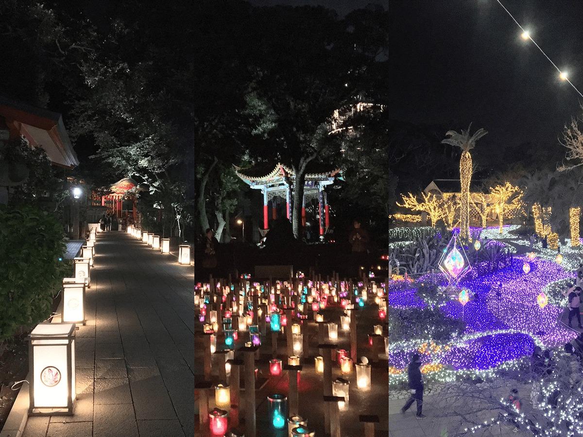 江の島灯籠・湘南の宝石・湘南キャンドル