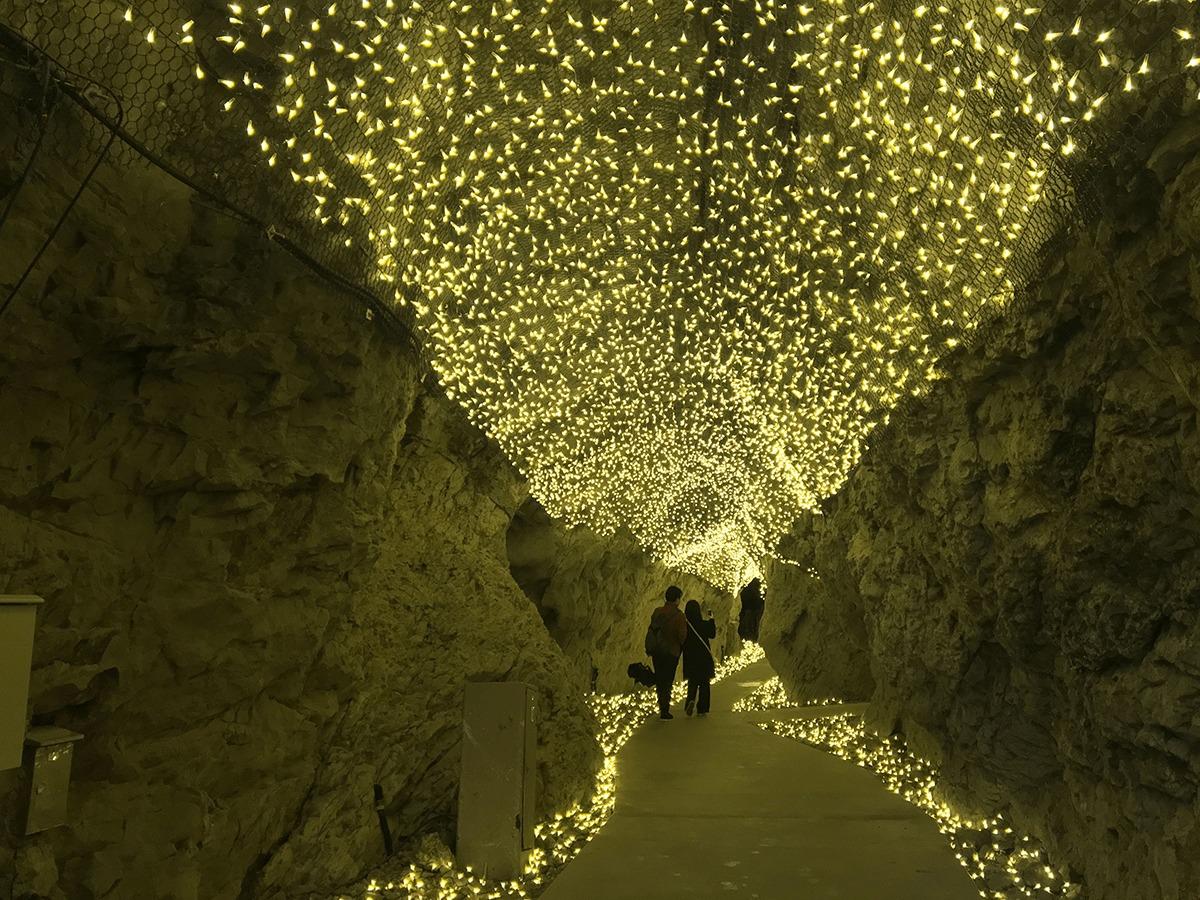 江の島岩屋の洞窟イルミネーション03